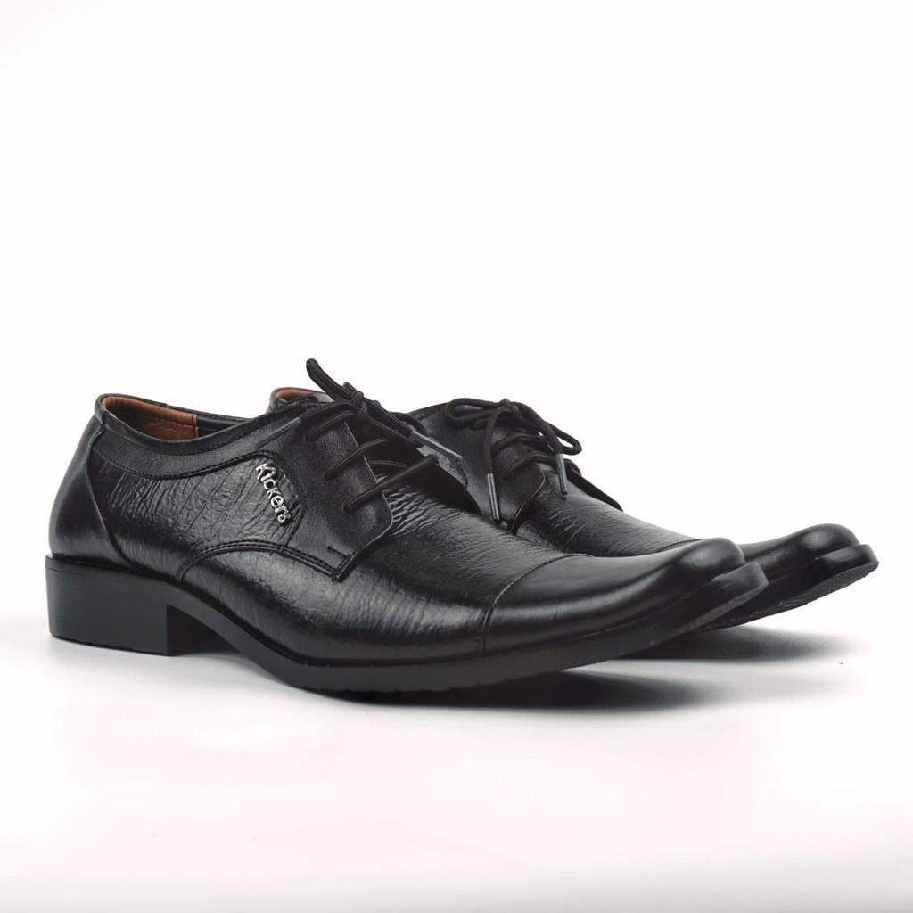 Sepatu Pantofel Pria Model Tali Formal Ks 2207 Derby Oxford Kulit