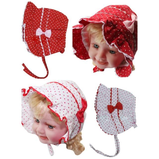 Topi bonnet star Topi bayi topi anak topi bayi import baby hat topi bayi  noni top bonnet topi noni  aa8b13c3bf