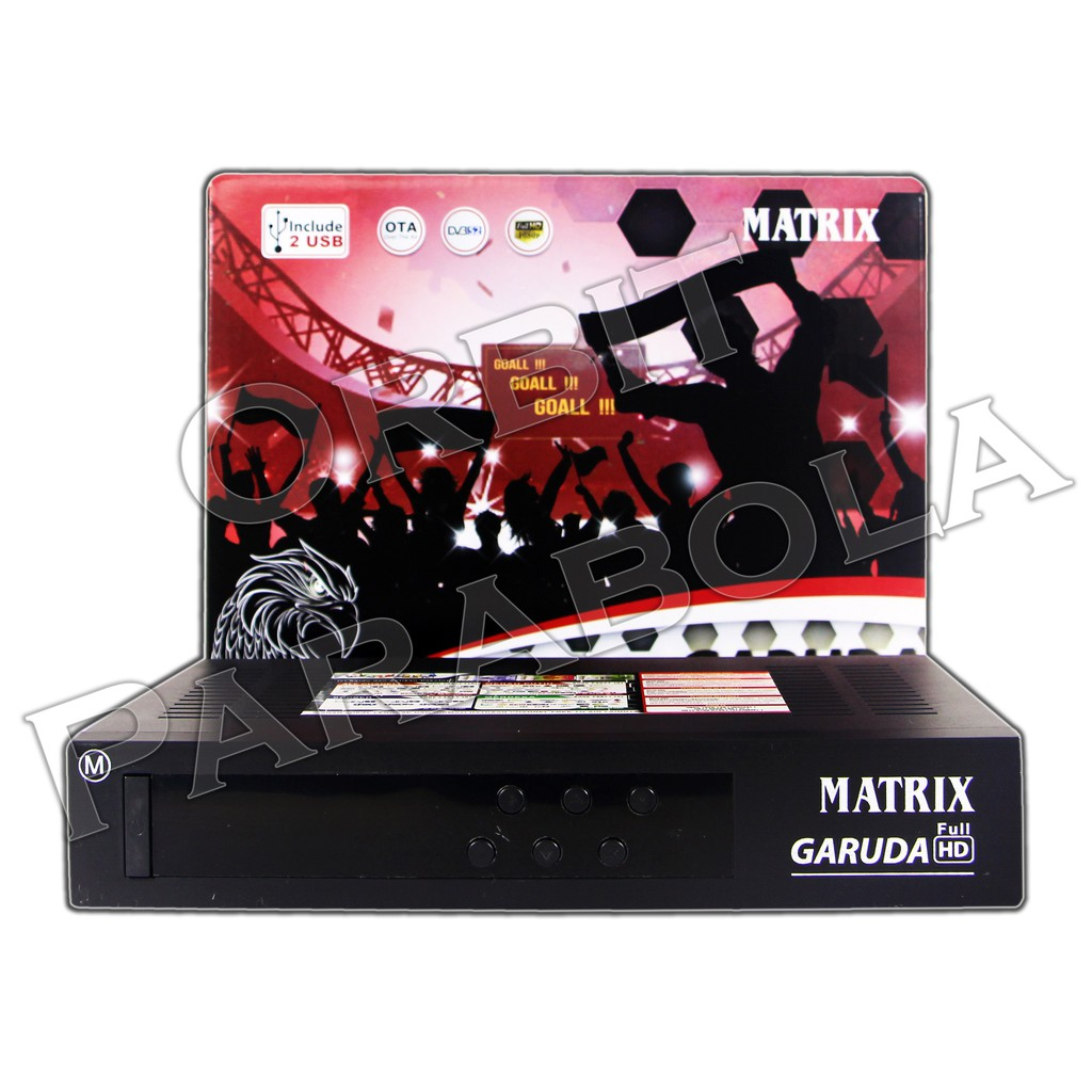 Terlaris Receiver Matrix Garuda Mpeg4 Hd Shopee Indonesia Voucher Rp 150000