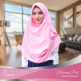 Milyarda Hijab Narinda Nurjannah Bahan Diamond Tebal Kerudung