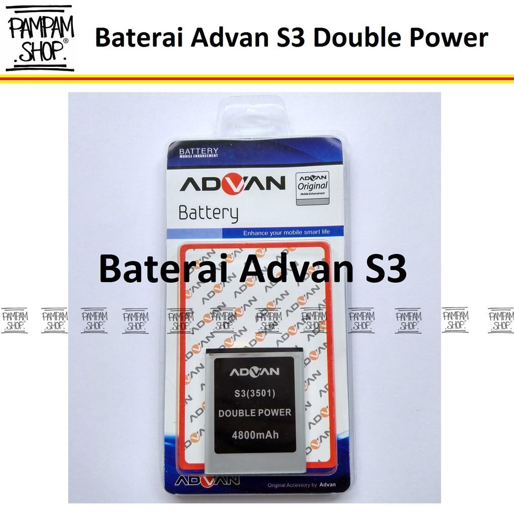 Baterai Handphone Advan S5E Original Double Power   Batre, Batrai, Battery, S5 E, S 5E, HP, Advance   Shopee Indonesia