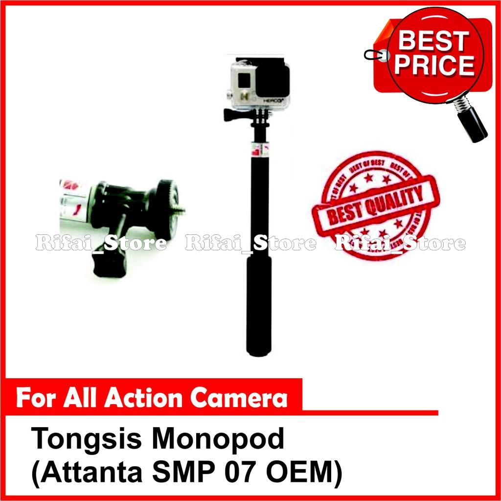 Tongsis Monopod Attanta Smp 07 For Smartphone Dslr Gopro 33 Hitam Xiaomi Yi Brica B Pro Shopee Indonesia