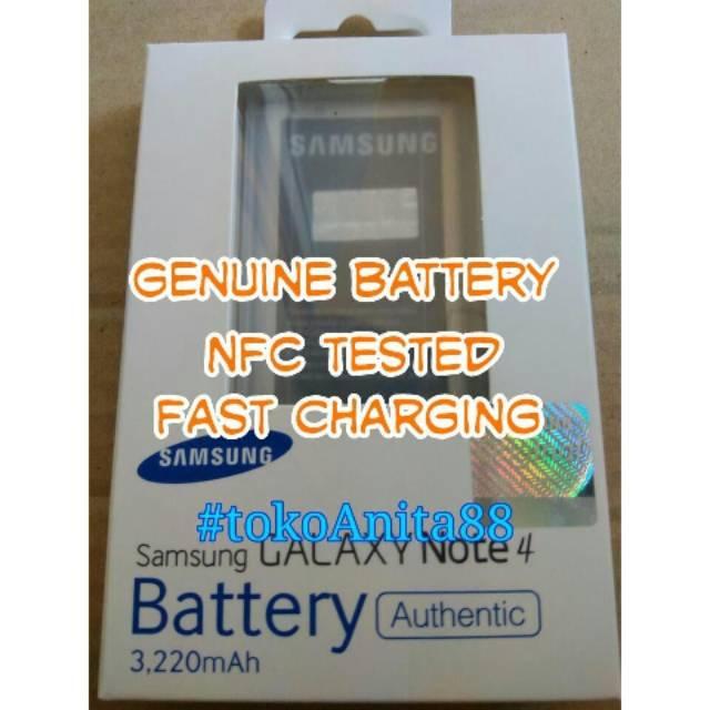 ORIGINAL 100% Baterai Batre Batere Battery Samsung Galaxy Note4 Note 4 EB-BN910BBE N910   Shopee Indonesia