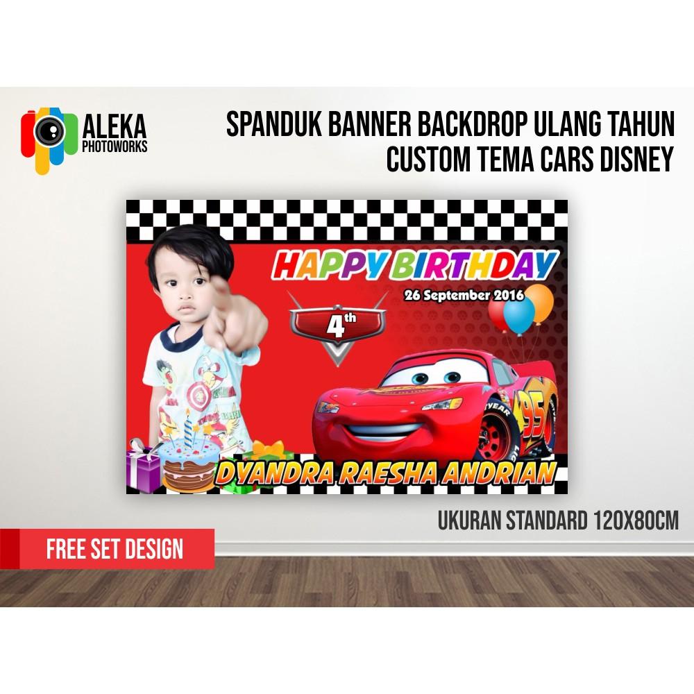 banner ultah cowok cdr