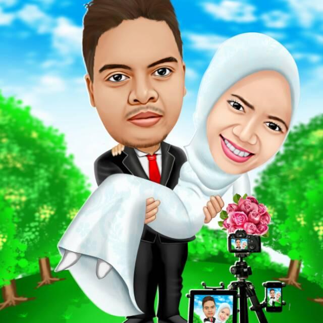 Foto Karikatur keren murah free tema soft copy | Shopee Indonesia