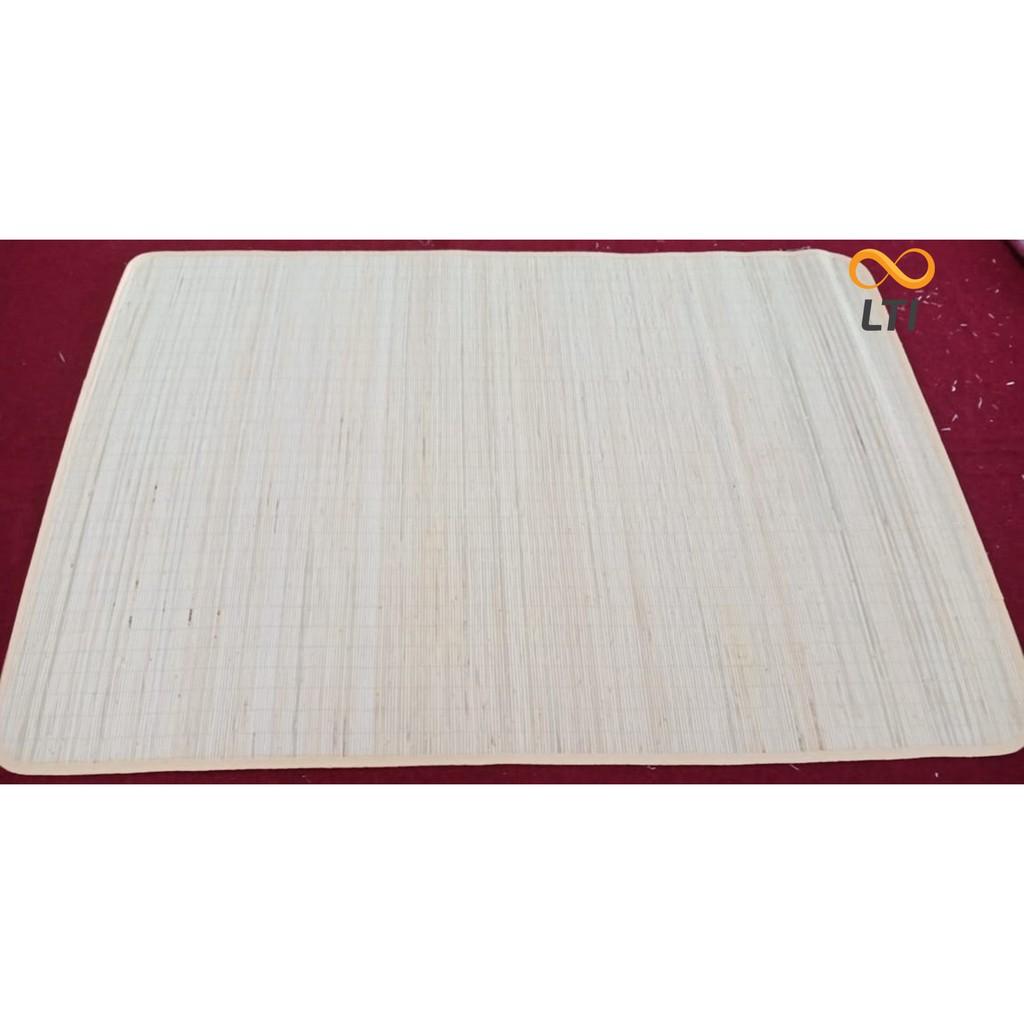 Tikar Bambu Polos Karpet Lipat Shopee Indonesia Tatami 180x200