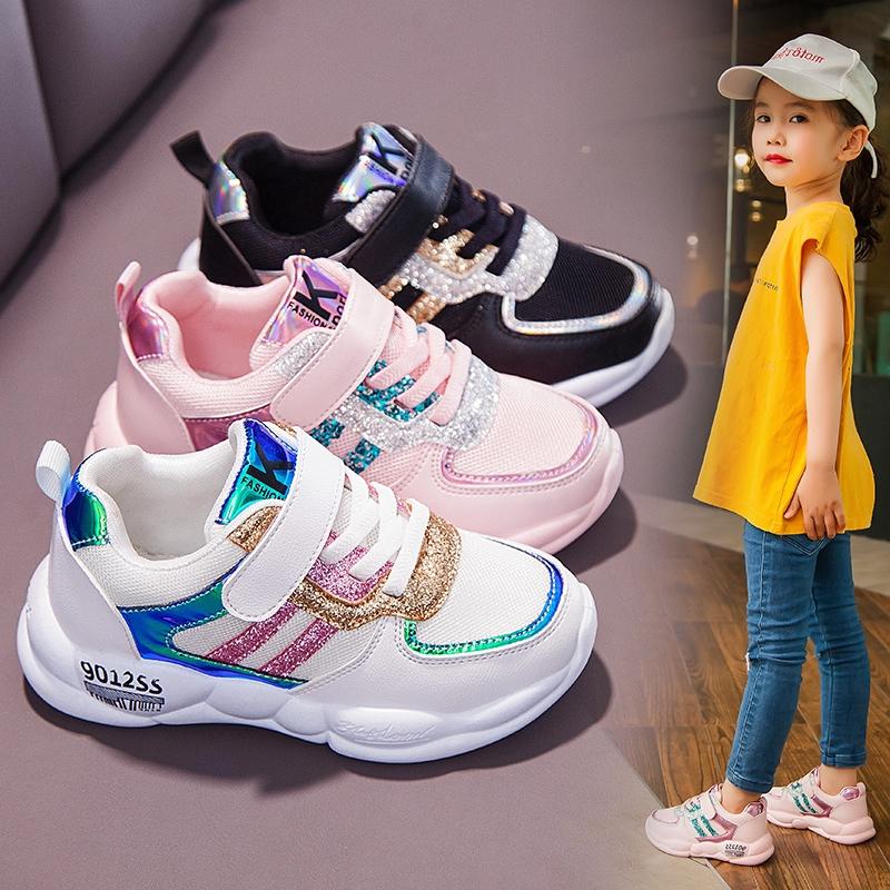 Sepatu Anak Anak Perempuan Sneakers 2019 Baru Musim Gugur Anak