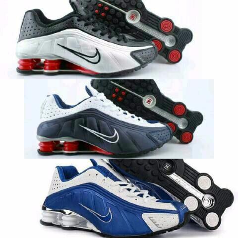 Murah! Sepatu pria Nike shock // Nike shox pria //Sepatu sport pria //Nike shox cowok