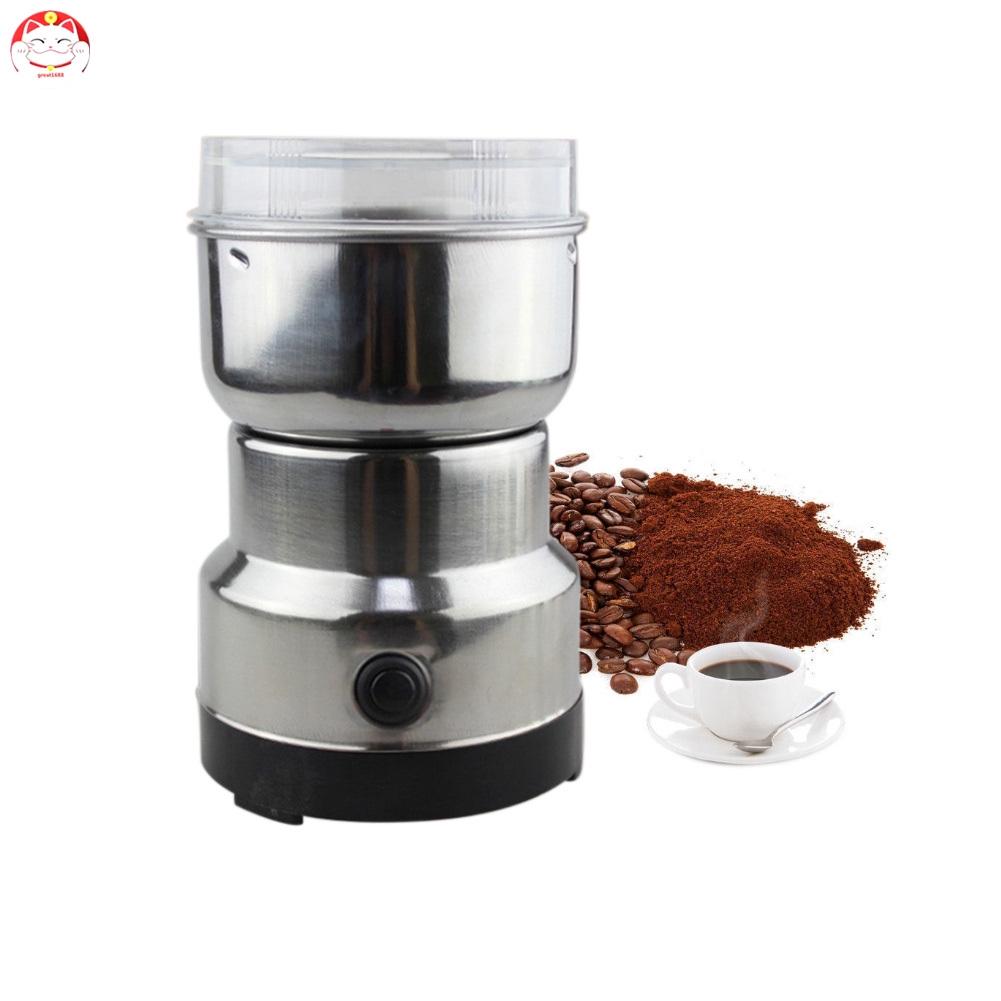 220v Electric Coffee Grinder Grinding Milling Bean Nut Spice Matte Blender Shopee Indonesia