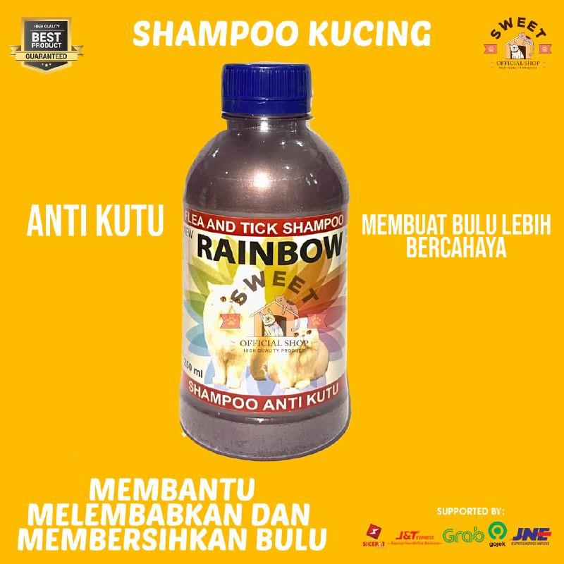 Rainbow - Shampo Anti Kutu Kucing Original 250 ml-4
