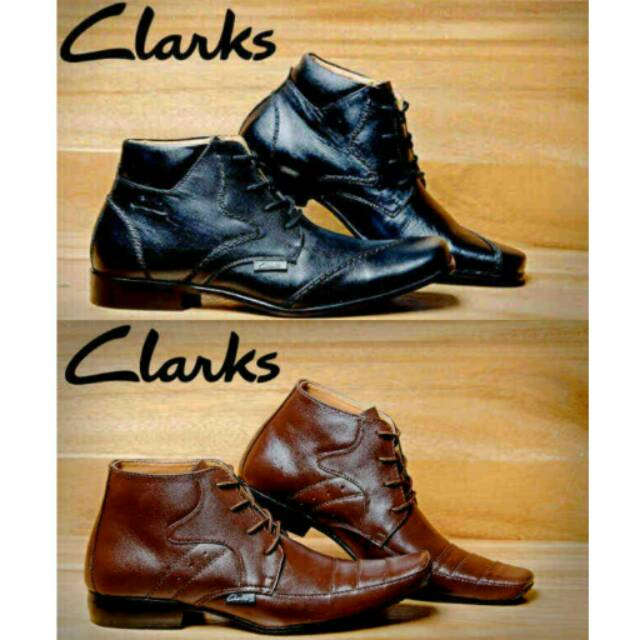 Sepatu Lacoste pantofel boots resleting hitam cokelat kulit asli kerja  kantor formal pesta pria  fc84546f5d