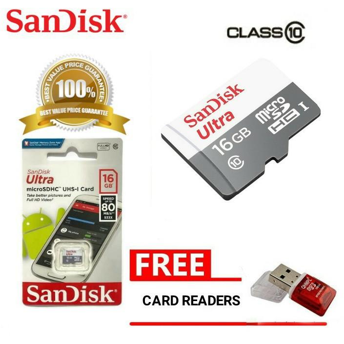 Kartu Memori Micro SD Original Class 10 16GB ~ 512GB 80mb / S   Shopee Indonesia
