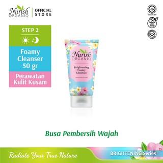 Nurish Organiq Brightening Foamy Cleanser (50ml) thumbnail