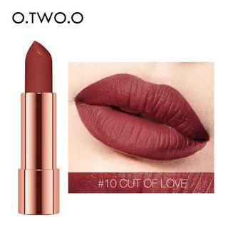 O.TWO.O Spun Gold Brocade Velvet Lipstick 4gr No. 10 Cut of Love thumbnail