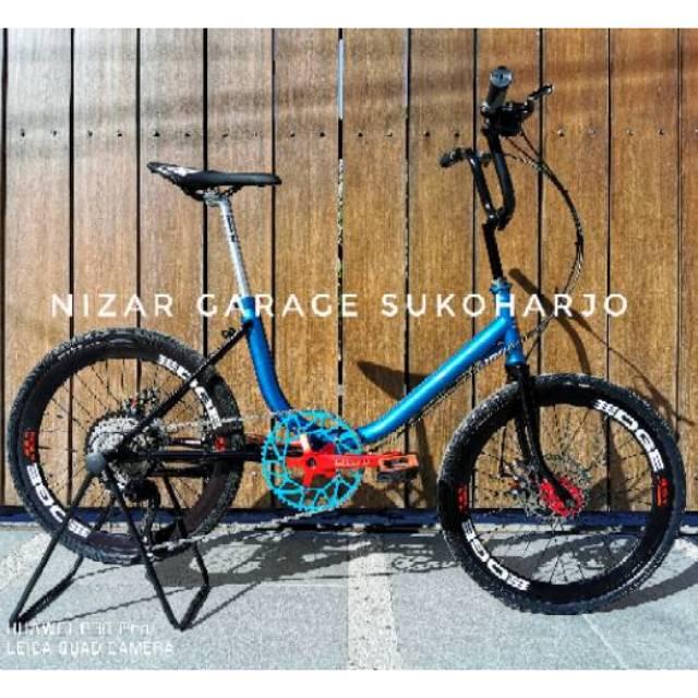 Sepeda Minion 20 Frame Japan Dan Phoenix 9 Speed Tinggal Pakai Murah Bisa Request Warna Shopee Indonesia