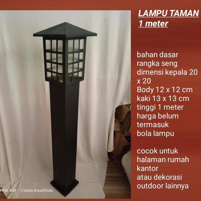 Lampu Hias Taman Minimalis Halaman Rumah Tm0099 Shopee Indonesia