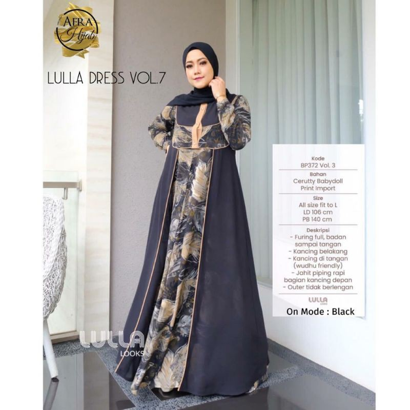 Lulla dress vol.7 original by Lulla Looks || khadijahidstore