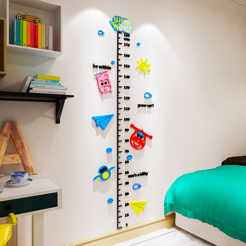 Kartun Stiker Tinggi 3d Stiker Dinding Tiga Dimensi Ruang Tamu Kamar Tidur Anak Laki Laki Dan Peremp Shopee Indonesia