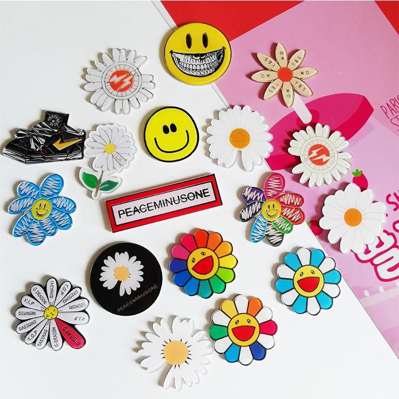 Bros Bentuk Bunga Matahari Daisy Bahan Akrilik Warna Warni Shopee Indonesia