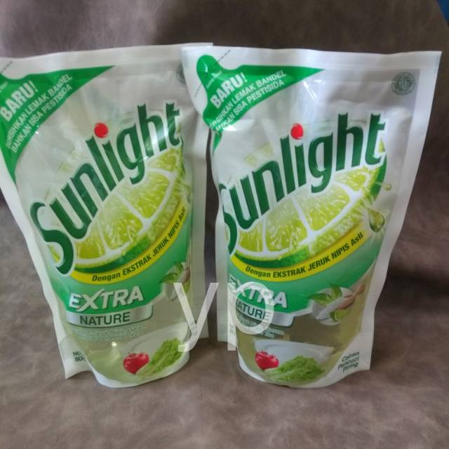 Cairan Pencuci Piring Sunlight Extra Nature 800ml | Shopee Indonesia