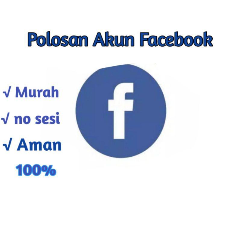 jual akun facebook kosong Murah meria