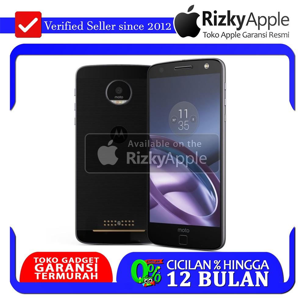 Motorola Moto Z Black Snapdragon 820 4gb 64gb Garansi Resmi Play Shopee Indonesia