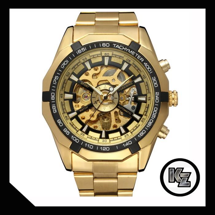 Jam Tangan Winner U8018 Automatic Mechanical Watch Otomatis Mekanis NCS | Shopee Indonesia