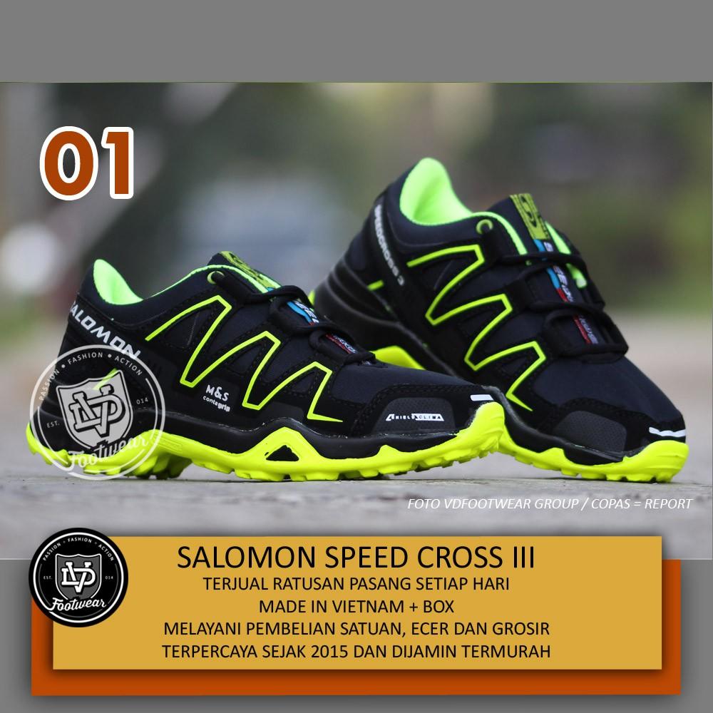 VD x SEPATU SALOMON SPEED CROSS III OLAHRAGA HIKING PRIA  2287c0a631