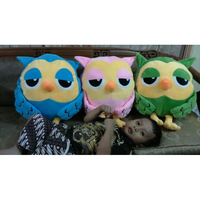 50 CM BONEKA BANTAL ROUMANG BIRU OWL KOREAN DOLL THE HEIRS KOREA KADO BONEKA  LUCU  3552e606a4