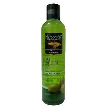 [BPOM] HERBORIST Zaitun Series - Body Wash / Shampoo / Lotion / Sabun Wajah / Minyak 75ml / 150ml-Shampoo Zaitun