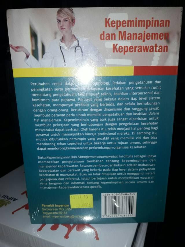 Kepemimpinan Dan Manajemen Keperawatan Shopee Indonesia
