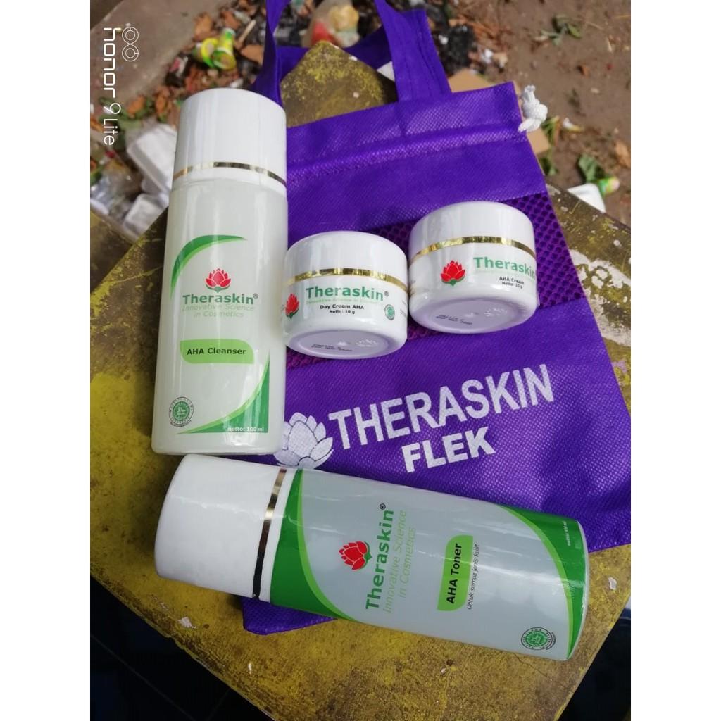 Theraskin Aha 10 Cream Shopee Indonesia Cleanser
