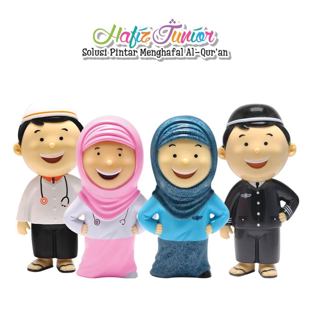 Hafiz Atau Hafizah Junior Seri Profesi Dokter Dan Pilot Talking Doll