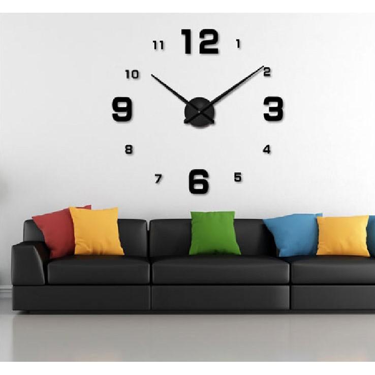 ptu 46 DIY Giant Wall Clock 30-60cm Diameter - ELET00662   Jam Dinding . edaf505128