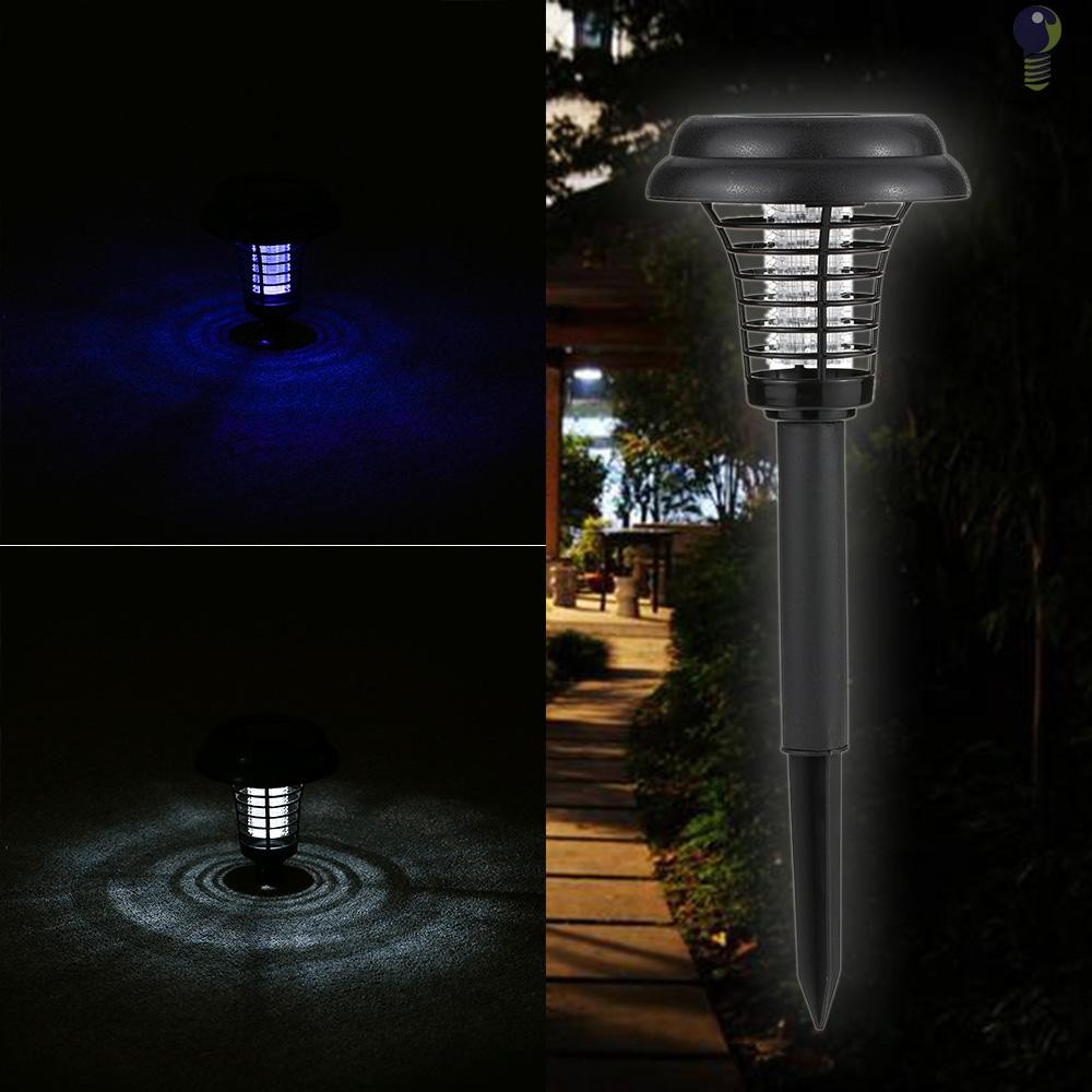 Lampu Led Elektrik 2 Mode Tenaga Surya Anti Nyamuk Serangga Untuk Outdoor Taman Shopee Indonesia
