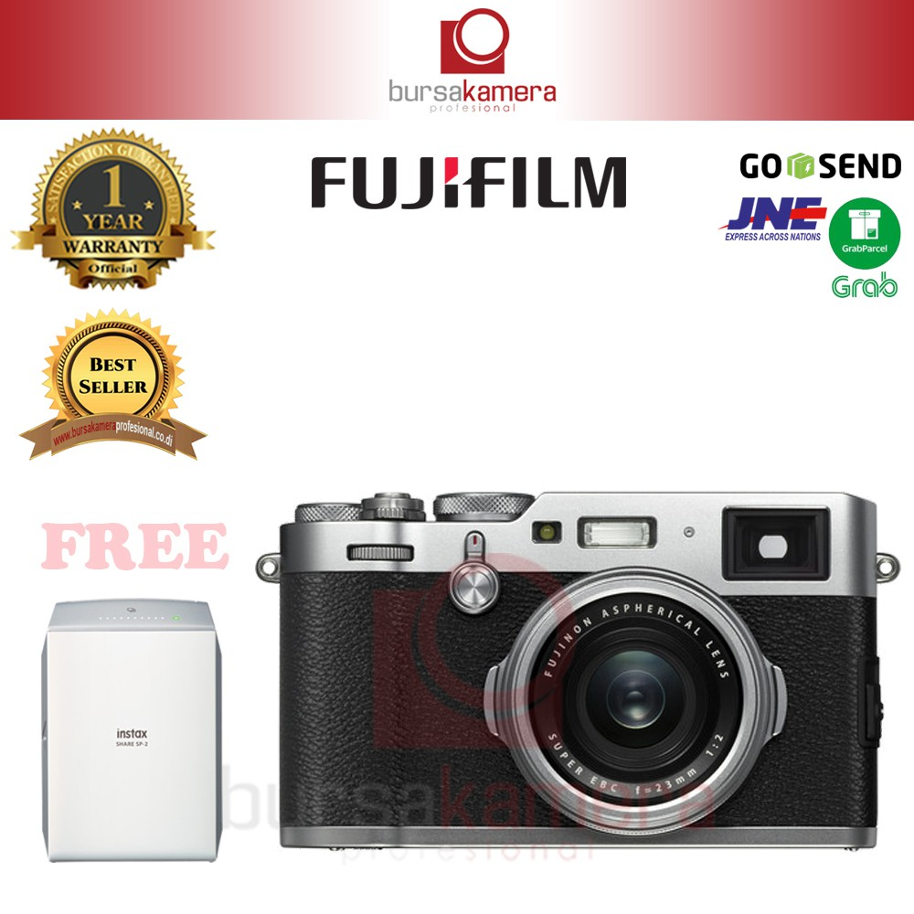 Fujifilm X Pro2 Kit Xf23mm F2 Black Instax Share Sp 2 Shopee T20 With 16 50mm Silver 50 230mm Indonesia