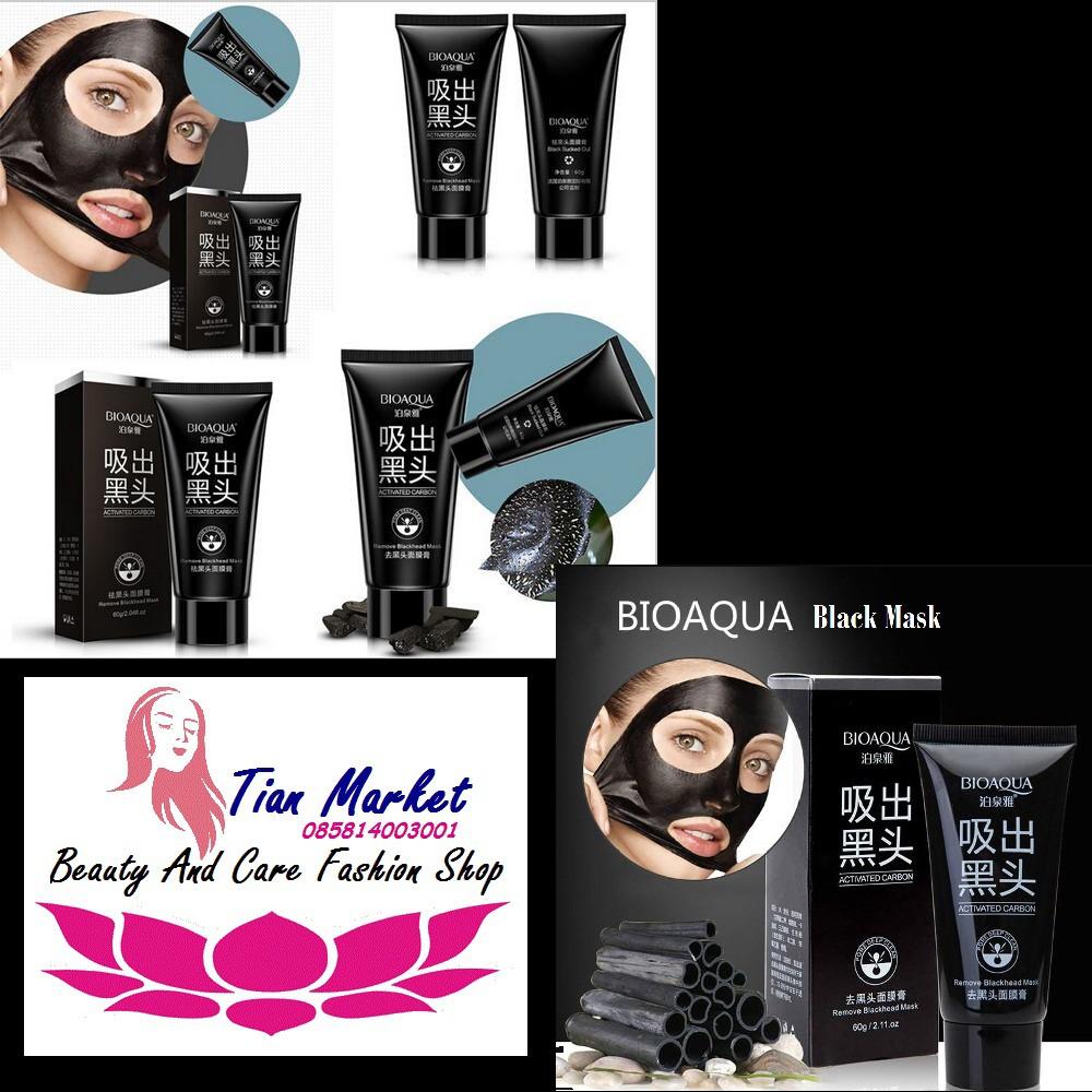 Bioaqua Black Masker Daftar Harga Terbaru Dan Terupdate Indonesia Ramadhan Buy 1 Get Charcoal Mask Arang Wajah Actived Carbon Lumpur Komedo 60g Qr0055 Shopee