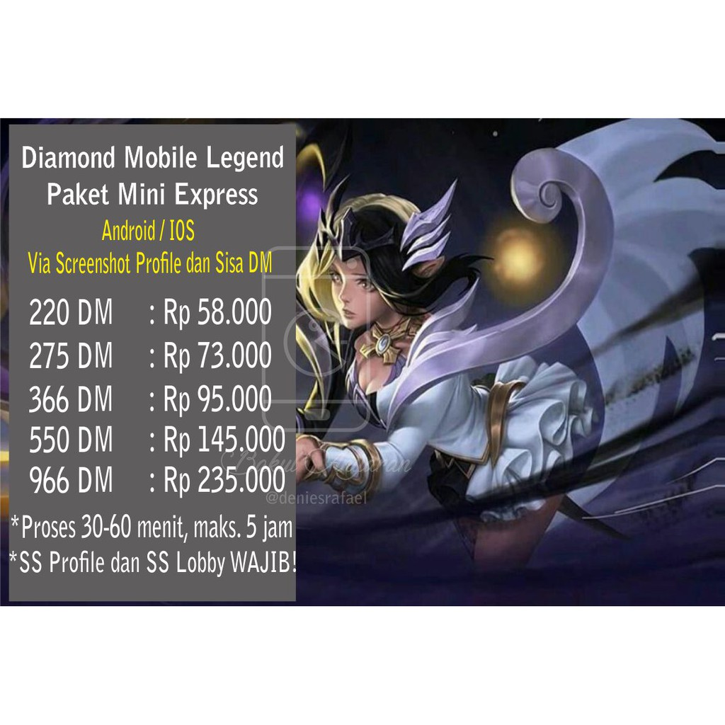 Topup Diamond Mobile Legend 11 74 Diamond Msc Avatar Border Mobile