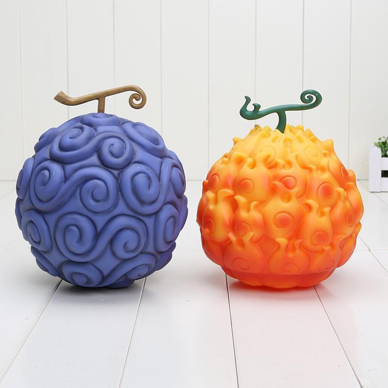 One Piece Devil Fruit Flame-Flame Fruit /& Gum-Gum Fruit Ace Luffy x 2