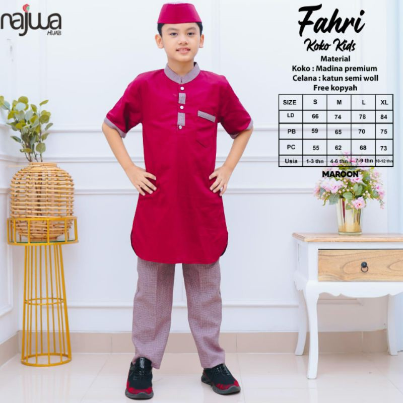 Fahri set Koko kids