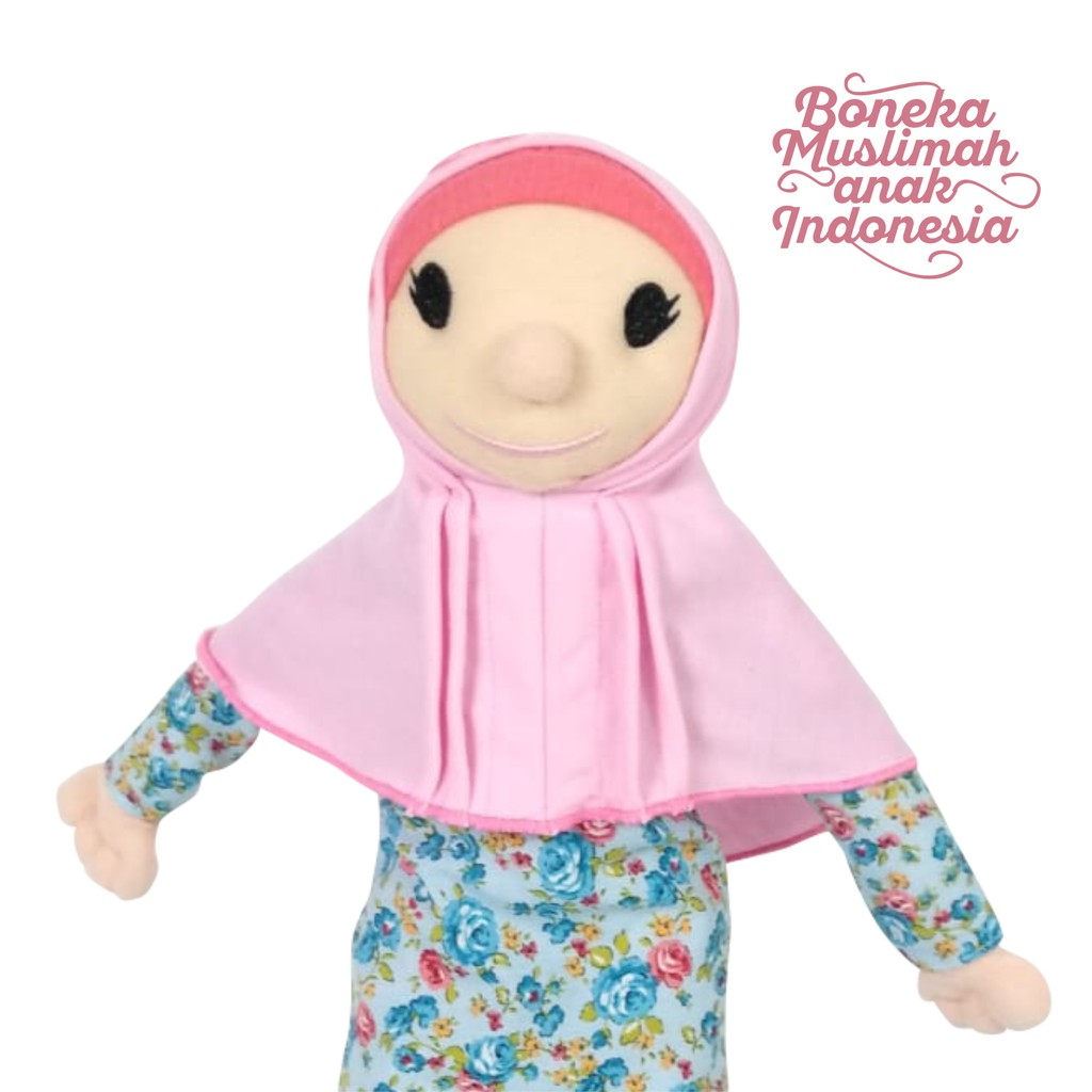 Boneka Hijab Muslimah Besar Model CIndy Anisa