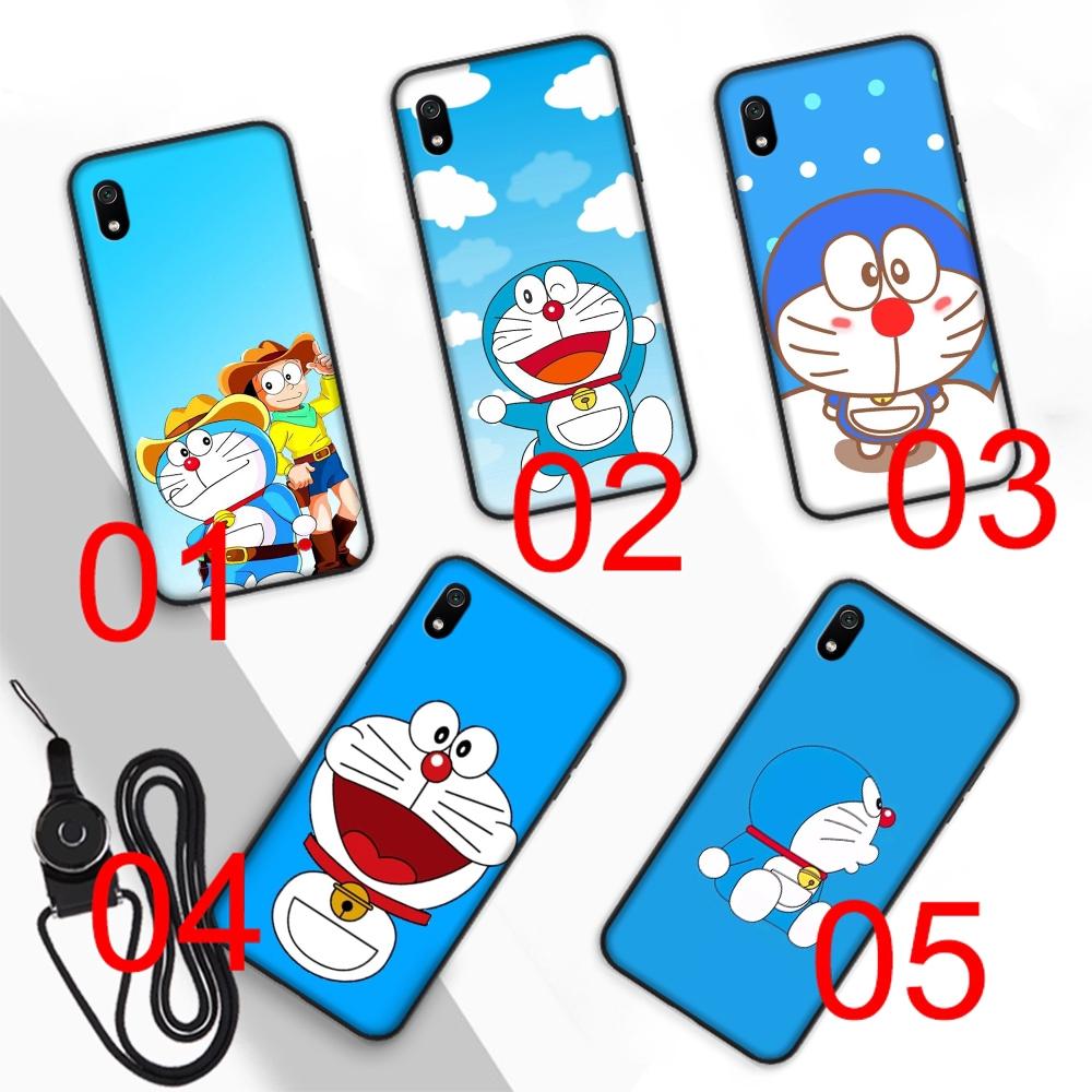 Casing Soft Case Desain Doraemon Lucu Untuk Xiaomi Redmi Note 6 7 Pro 6A 7A
