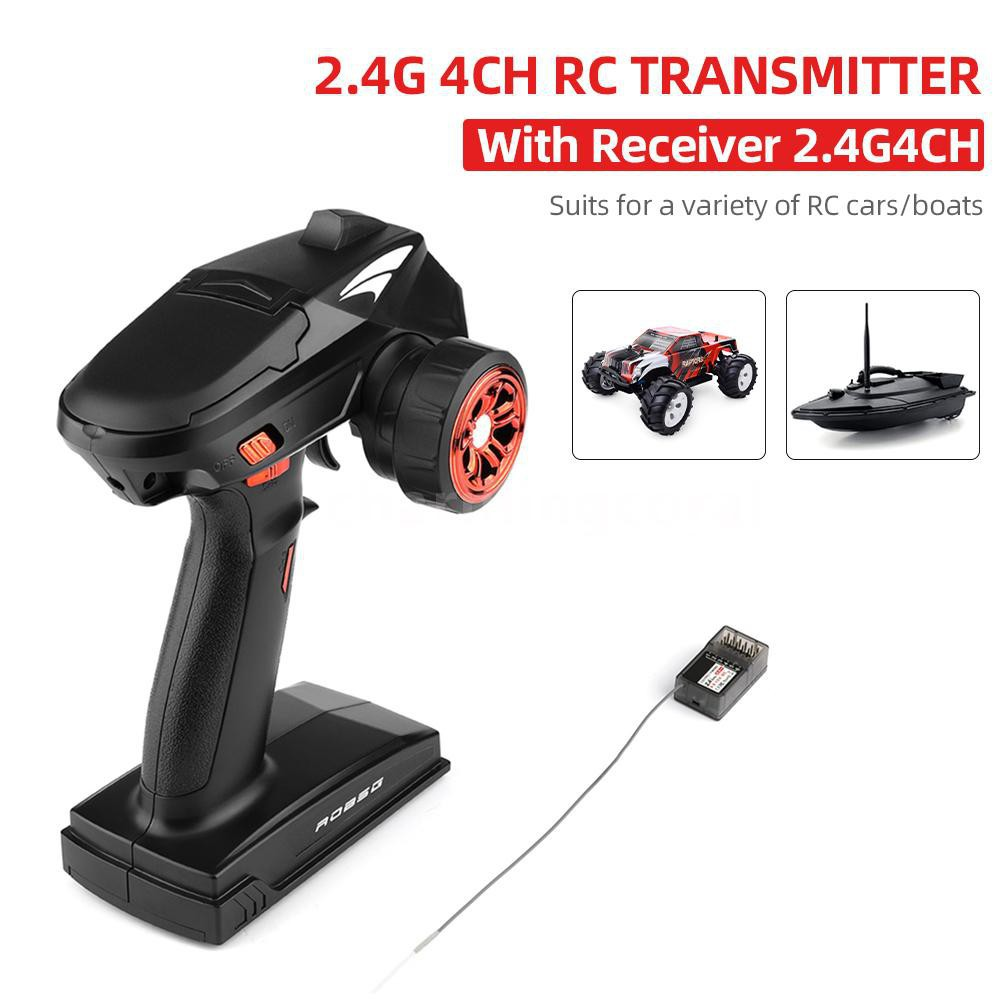 2.4G 6CH Remote Control Handle Transmitter Receiver For RC Boat Aircraft Tank