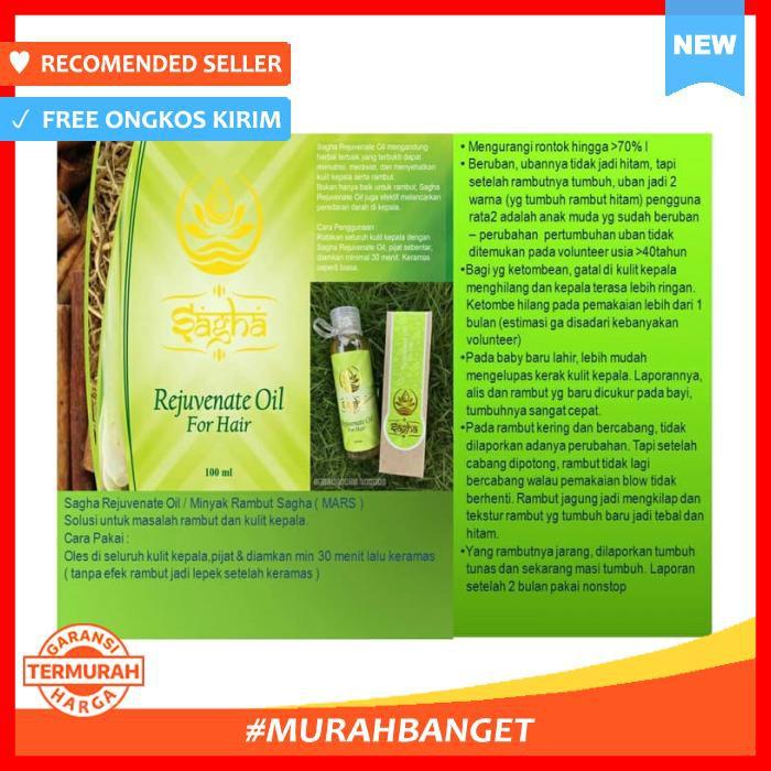 Sagha Rejuvenate Oil for Hair / Minyak Rambut Sagha MaRS | Shopee Indonesia