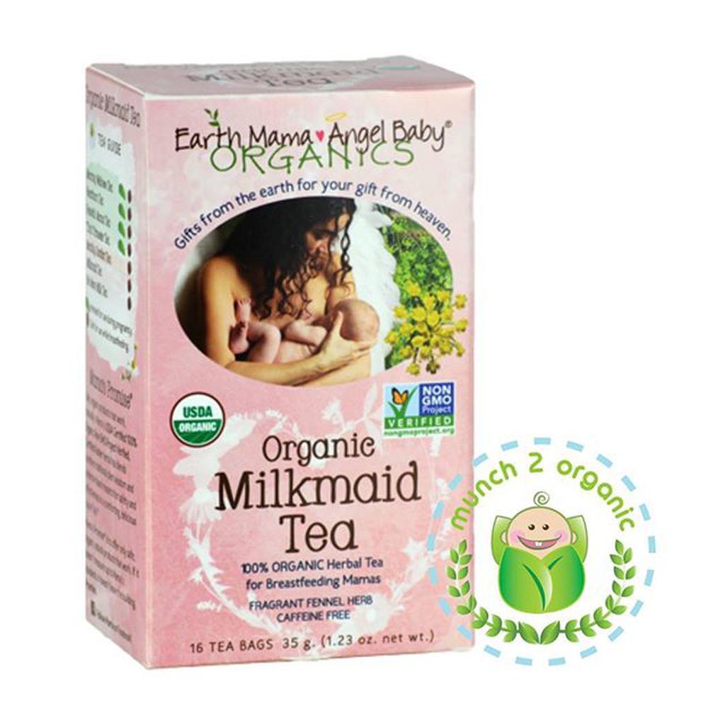 Earth Mama Angel Baby Organic Milkmaid Tea Fragrant Fennel Herb Teh Pelangsing Slim Sariayu Isi 30 Bags Caffeine Free 16 35 G Shopee Indonesia