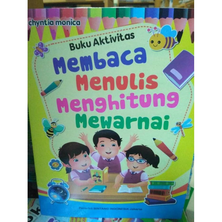 Buku Anak Paud Dan Tk Murah Terbaru Buku Anak Membaca Menulis Menghitung Mewarnai Terlaris