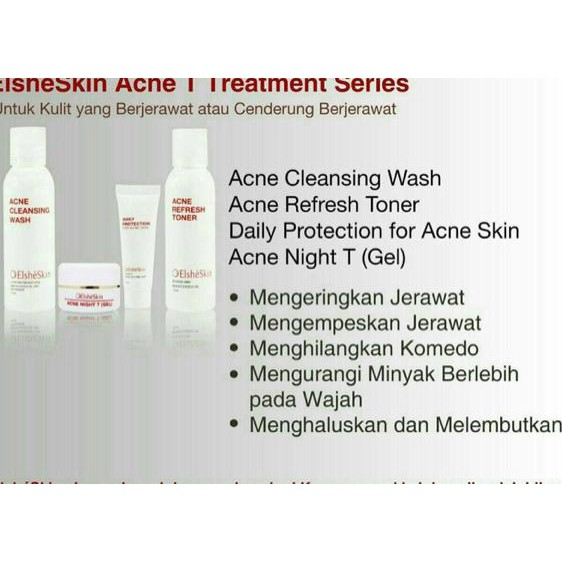 PAKET ElsheSkin Acne Morning Treatment - Perawatan Wajah Berjerawat | Shopee Indonesia