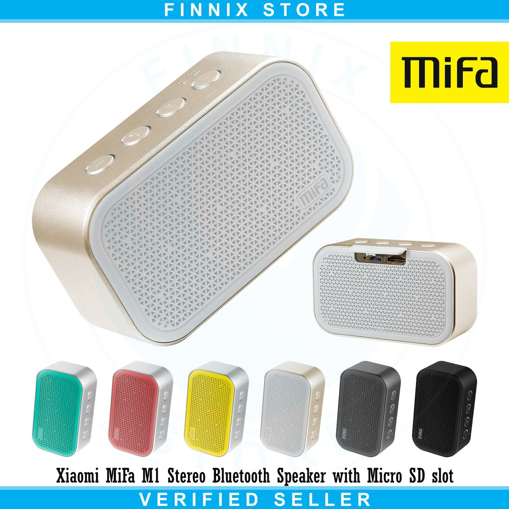 Bri Xiaomi Mifa F10 Bluetooth Portable Outdoor Speaker Ipx6 Waterproof H2 Stereo Bracket For Mobile Shopee Indonesia