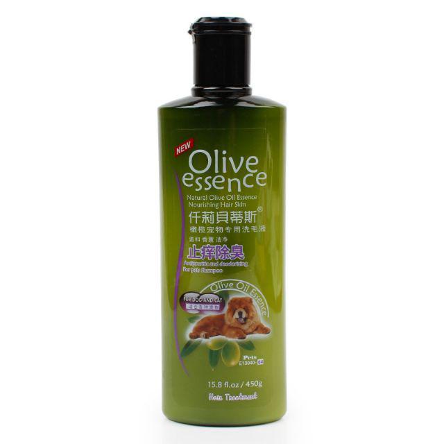 Shampoo Olive 450ml all varian Untuk Anjing dan Kucing-Dog&Cat No4 450ml