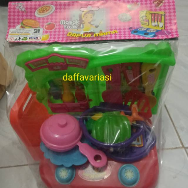 Mainan Anak Masak Kan Keranjang Shopee Indonesia